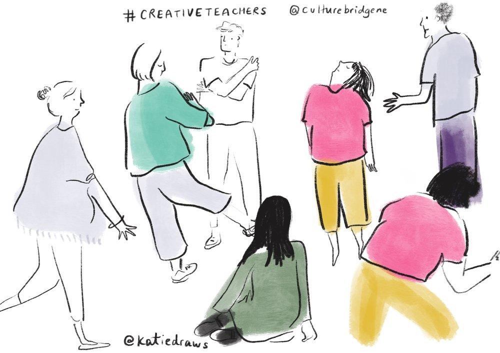 Big Creative Teachers Event - live illustrator scotland.jpg
