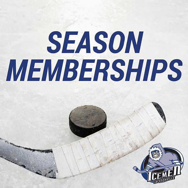 Get the exclusive. Join the IceMen Exclusive season membership program today! #echl #hockey #ilovejax #iloveFL #igersjax #JaxIceMen