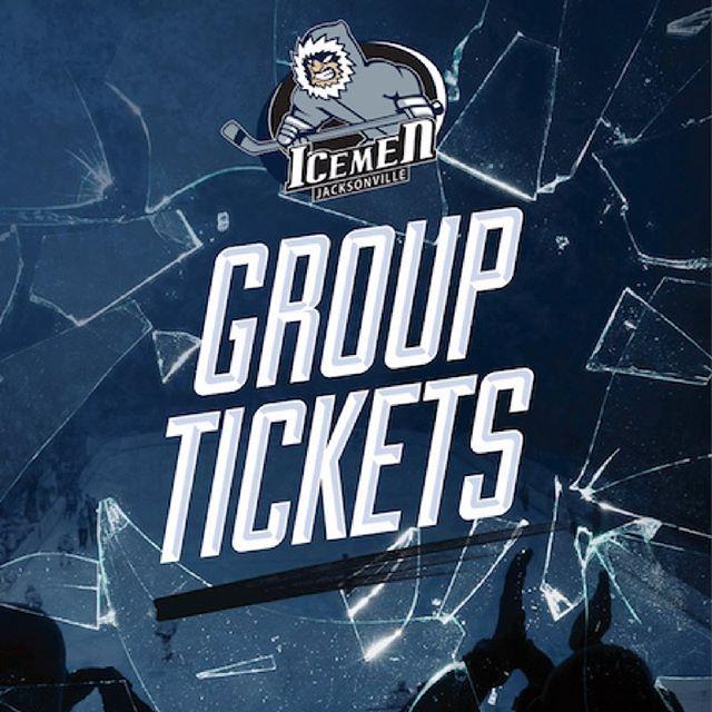 Got a squad? Book today for group discounts. 🏒 #echl #hockey #ilovejax #igersjax #jax