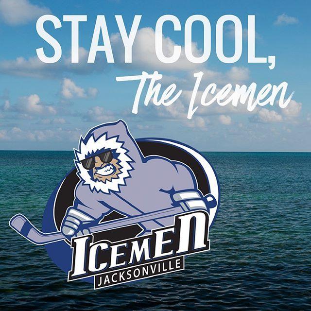 Stay cool! 😉 #FirstDayofSummer #hockey #ilovejax #igersjax #jax #iloveFL #echl #summer #jacksonville #JaxIceMen