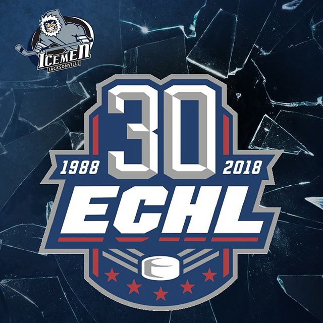 🔴 ⚪ 🔵 Check it out! The #ECHL unveils new 30th Anniversary logo fit for Independence Day. 🇺🇸 #jax #JaxIceMen #jacksonville #iloveFL #igersjax #fourthofjuly #merica