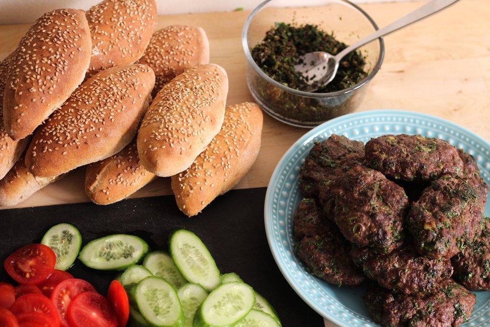 Kebab buffet
