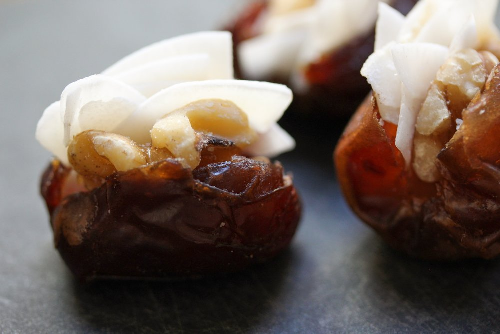 coconut walnut date