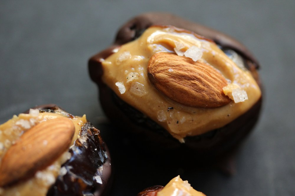 salted peanutbutter almond date