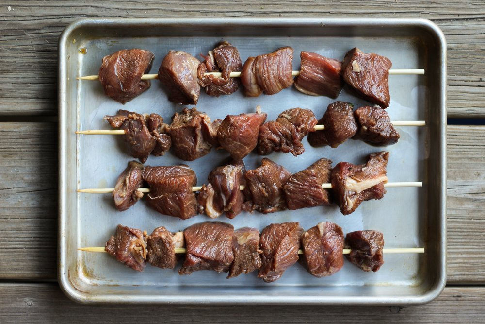 leg of lamb shish kebab