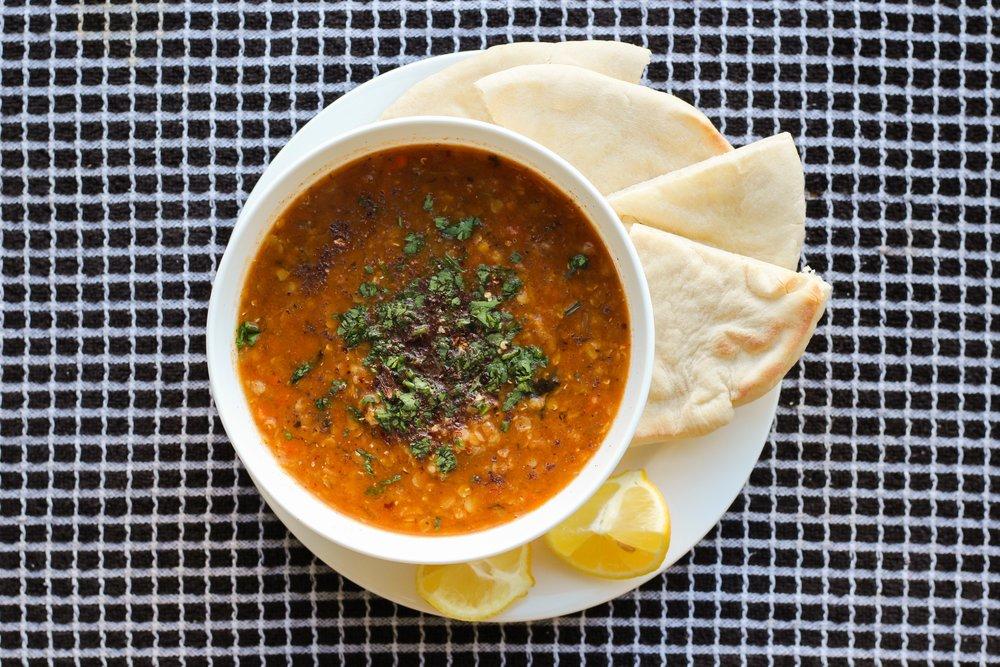zesty lentil soup