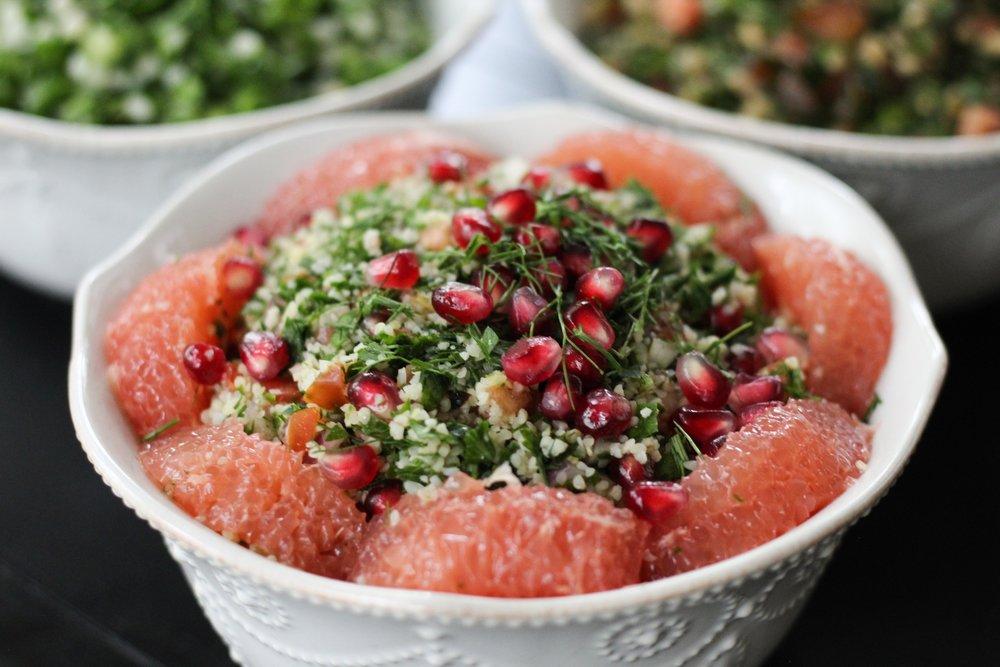 ruby fennel tabbouleh