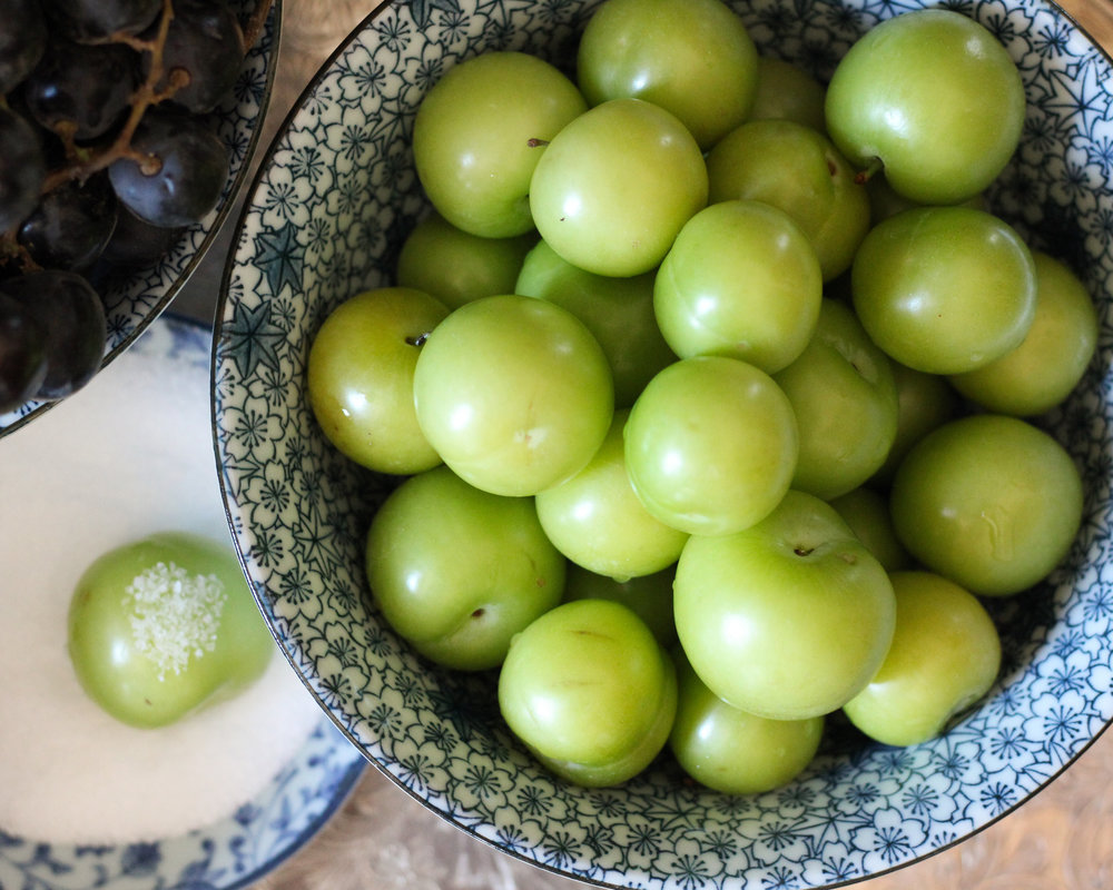 Jarareng / Sour Plums / Green Plums