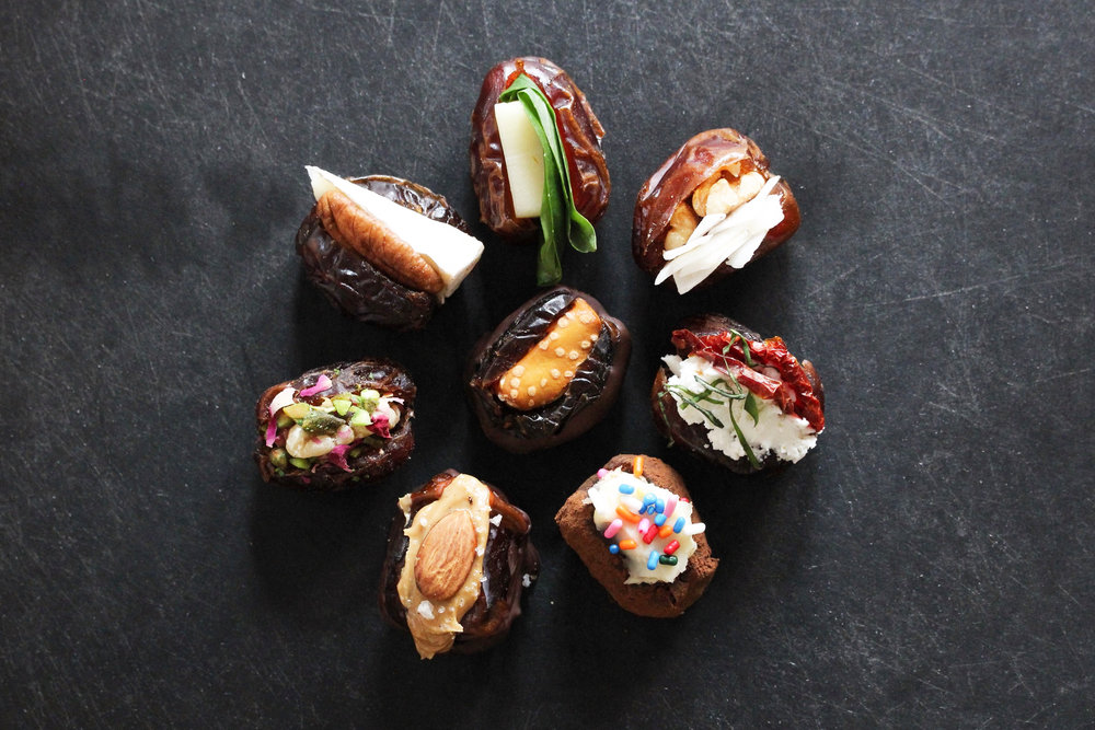 stuffed dates 8 ways