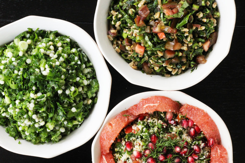 build-your-own tabbouleh