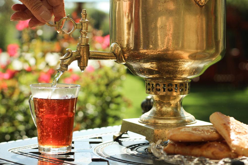 samawar tea