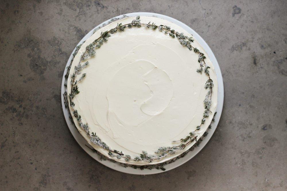 Sumac Thyme Cake