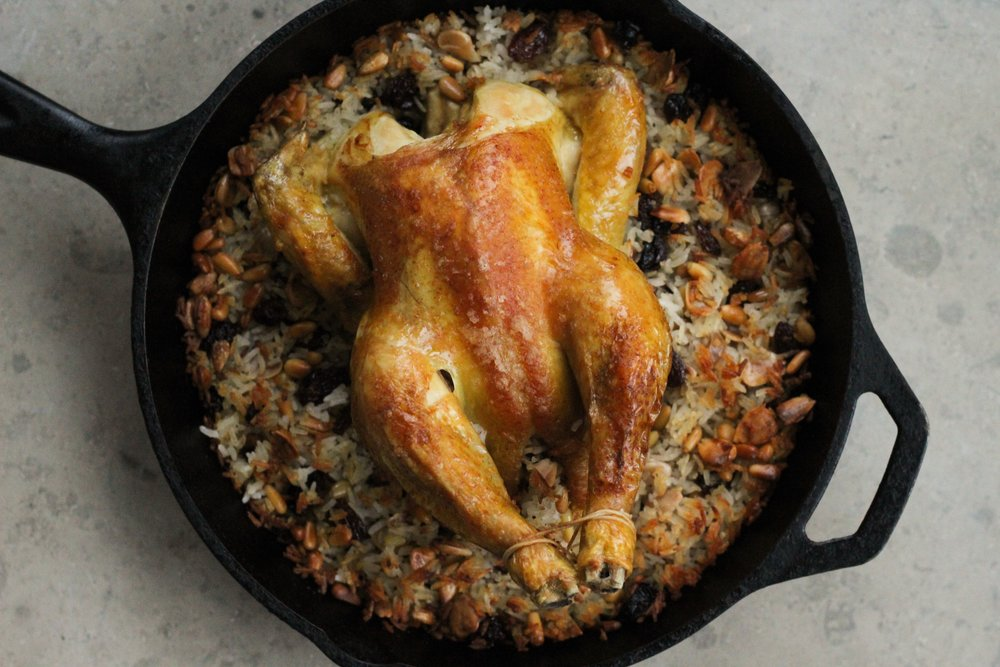 Rice Stuffed Chicken