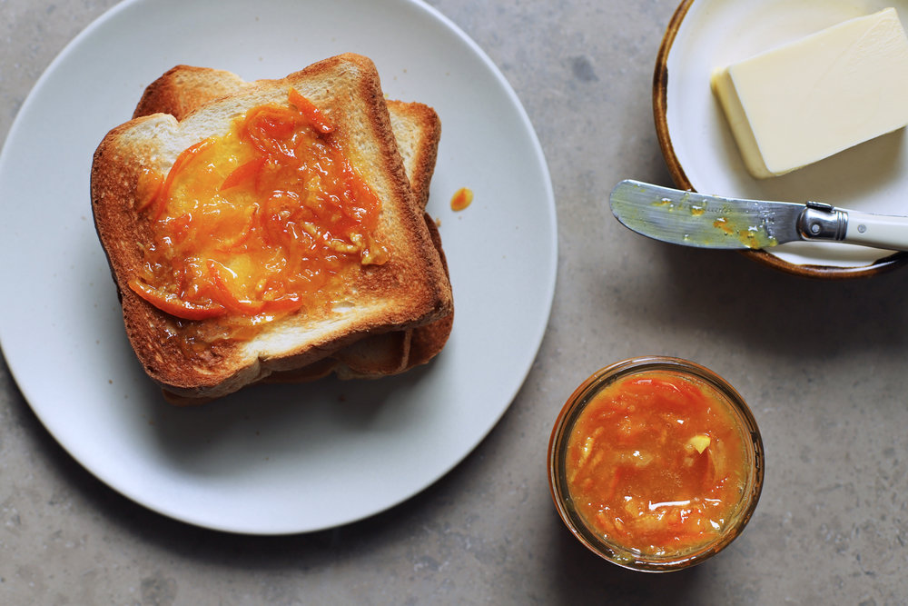 orange blossom marmalade