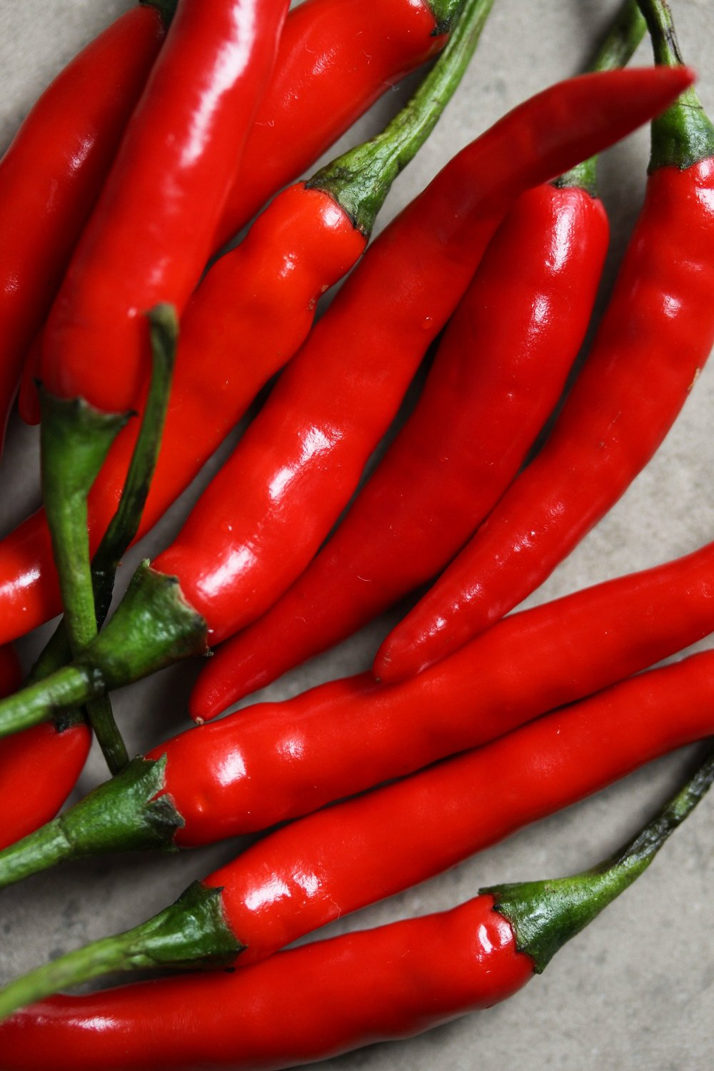 Hot Peppers for Roast Okra