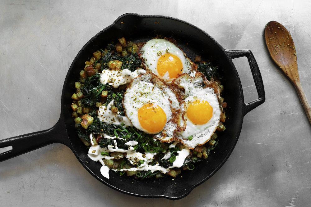 za'atar breakfast skillet