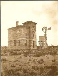 The Pecos County Jail as it looked shortly after construction.