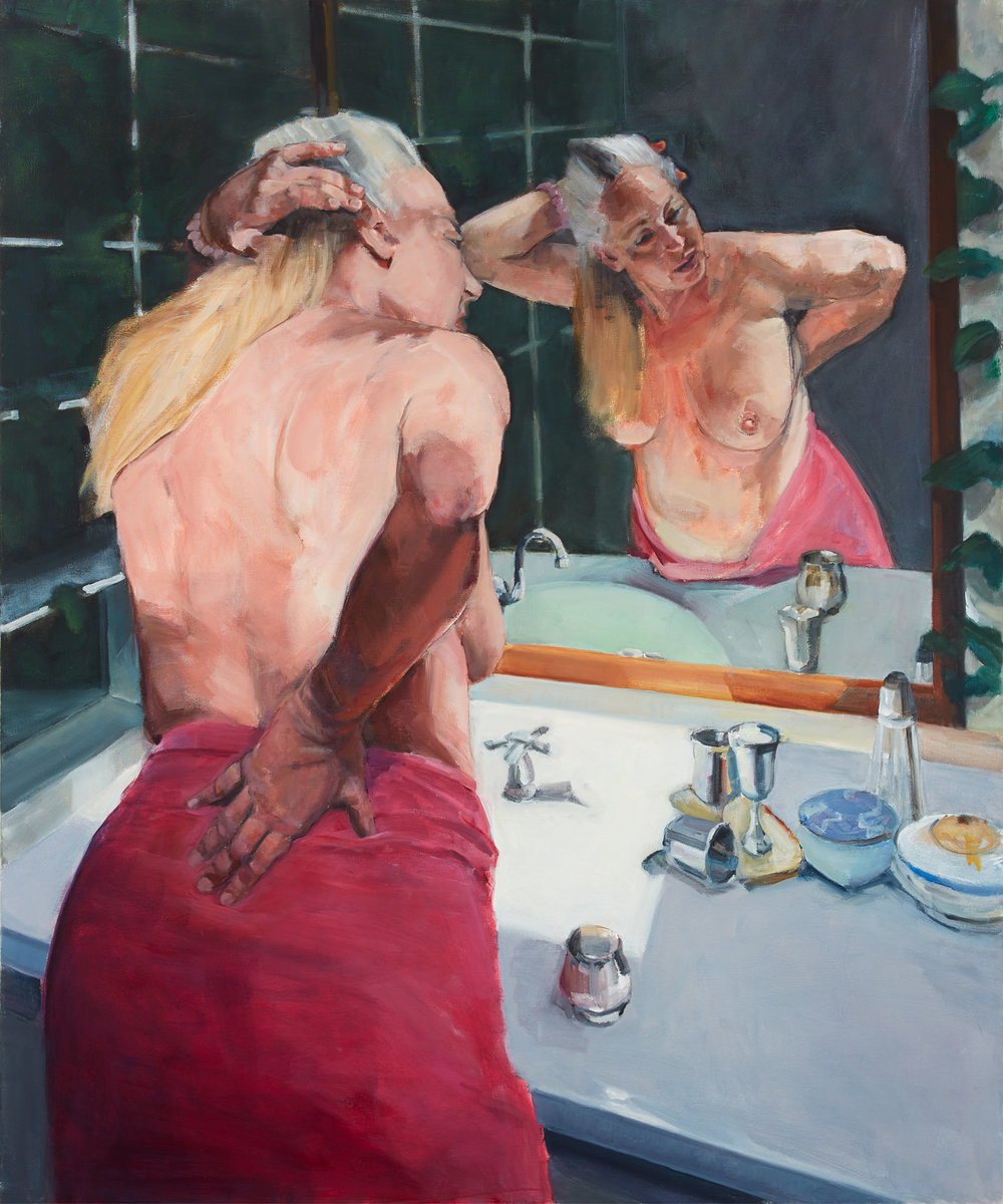 "Is this Me? 48""x40""oil on canvas"