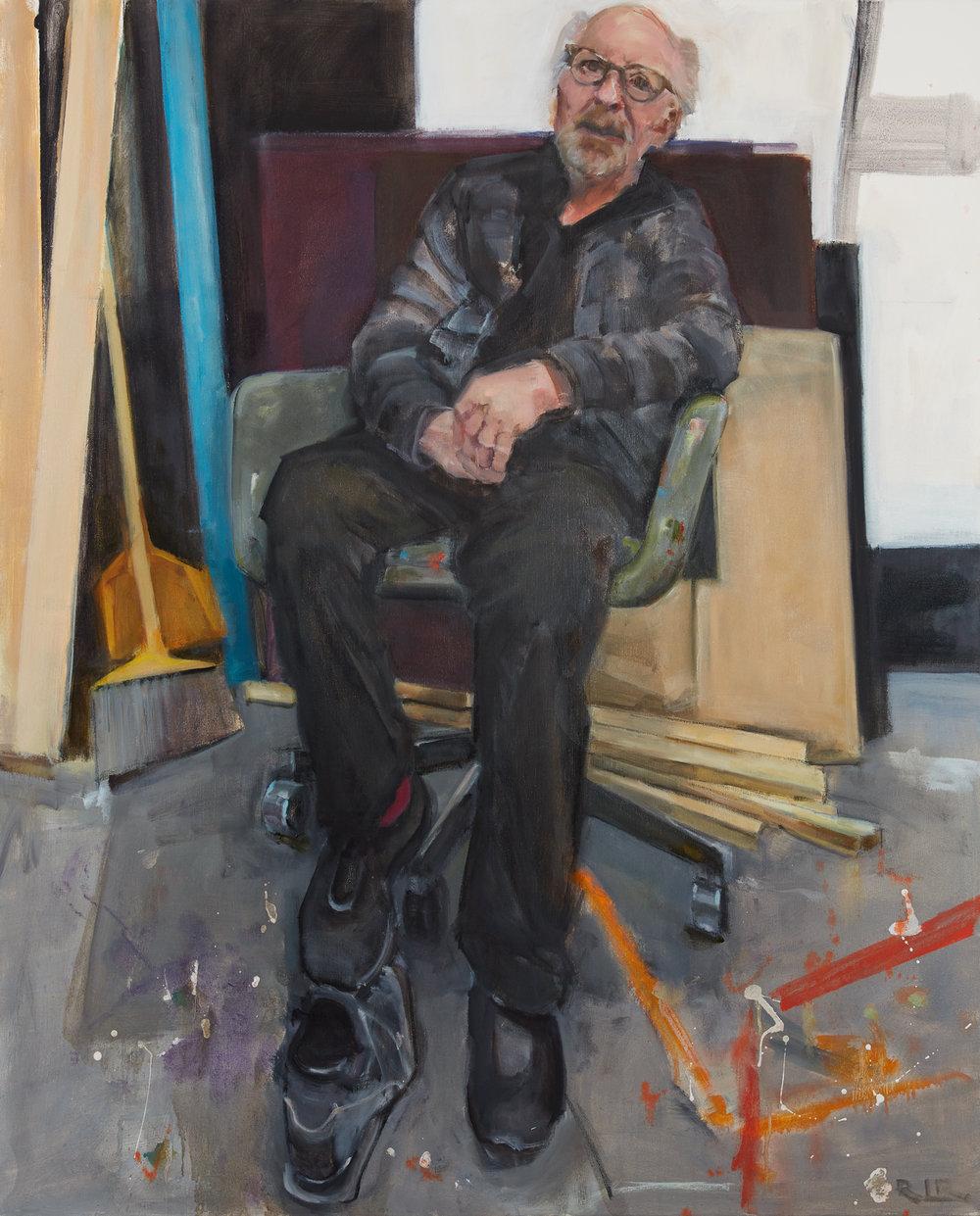O  42x32  oil on canvas  2018
