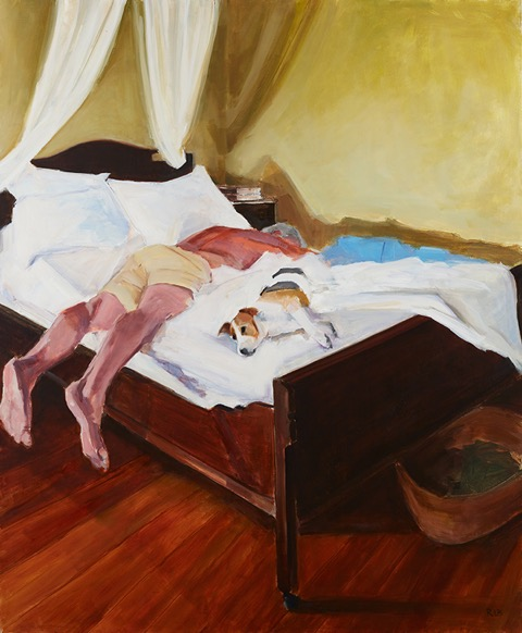 another hot day oil 59%22x49%22 .JPG