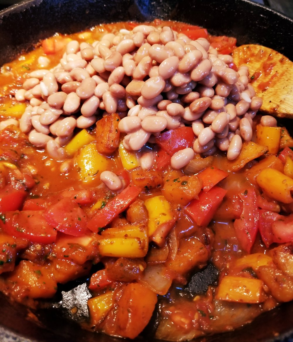 Stri in pinto beans