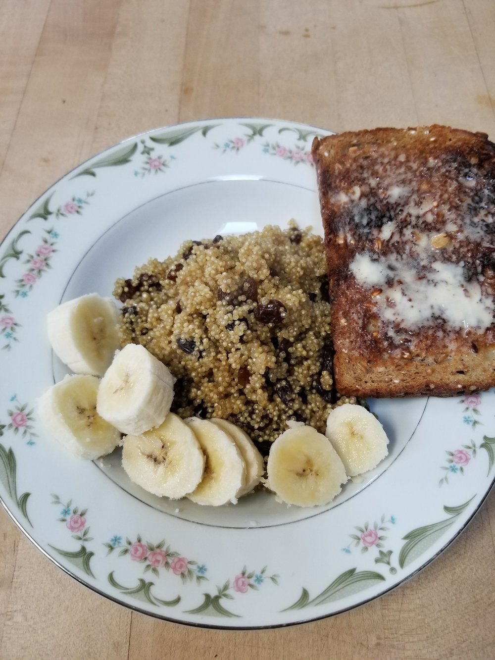 Serve as is or with cut up fruit and vegan multi grain toast with Vegan Butter. Very similar to cream of wheat in texture but full of protein instead of carbs.