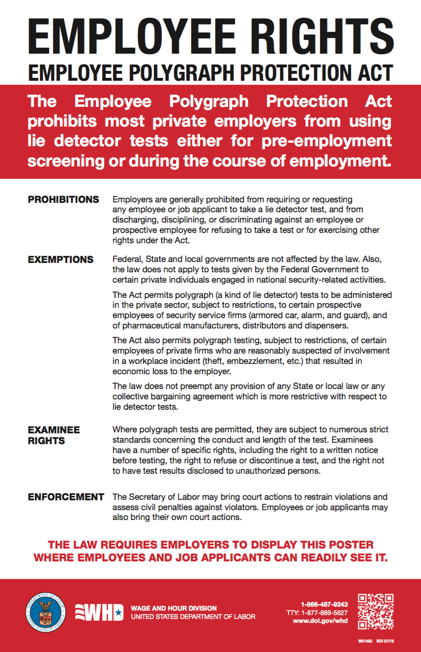 Employee Polygraph Protection Act