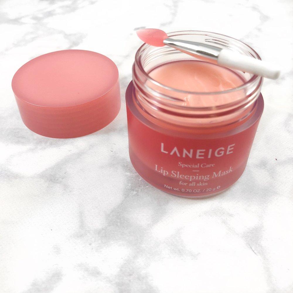 Review Laneige Lip Sleeping Mask Vinessencebeauty