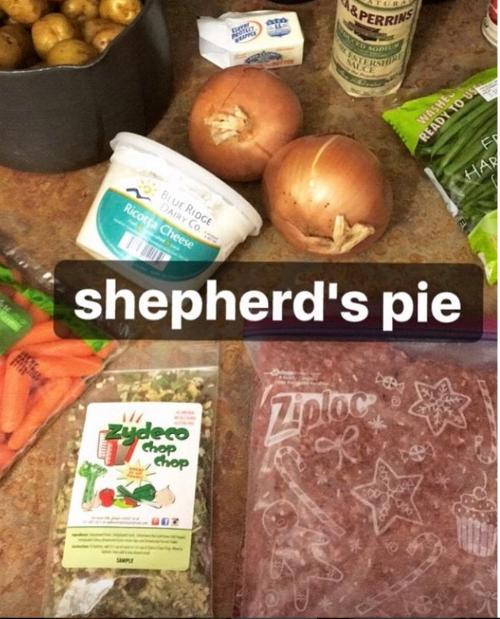 Zydeco Chop Chop Shepards Pie  Betsy Transatlantic