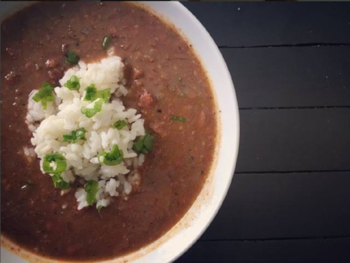 Spicy Red Beans and Rice Jay Ducote