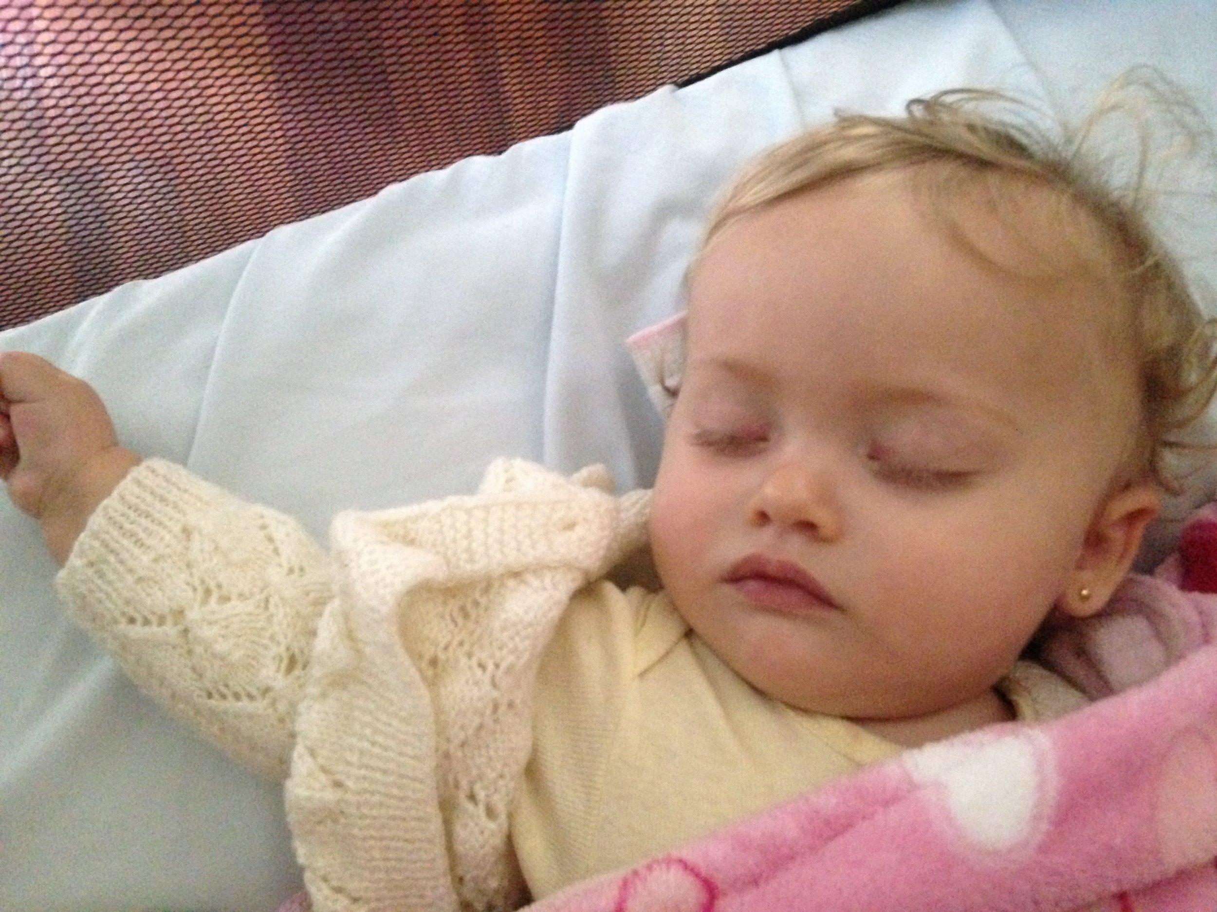 Como dormir un bebe en un minuto