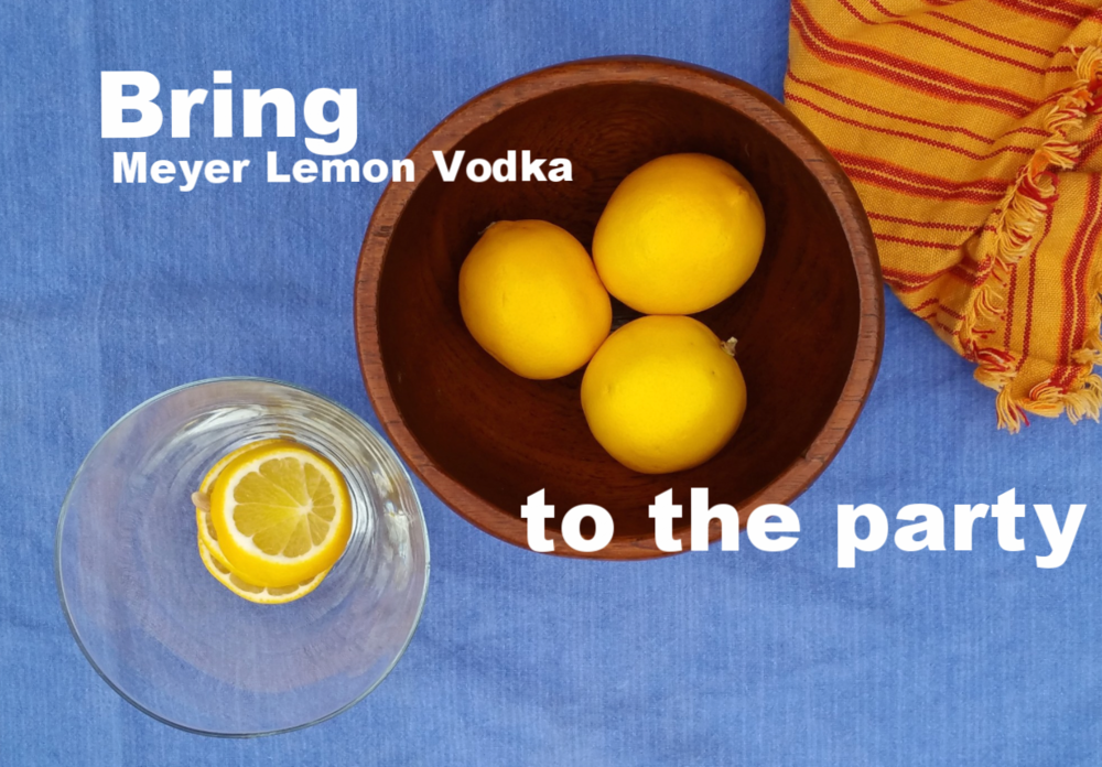 When Life Gives You Meyer Lemons, Make Vodka