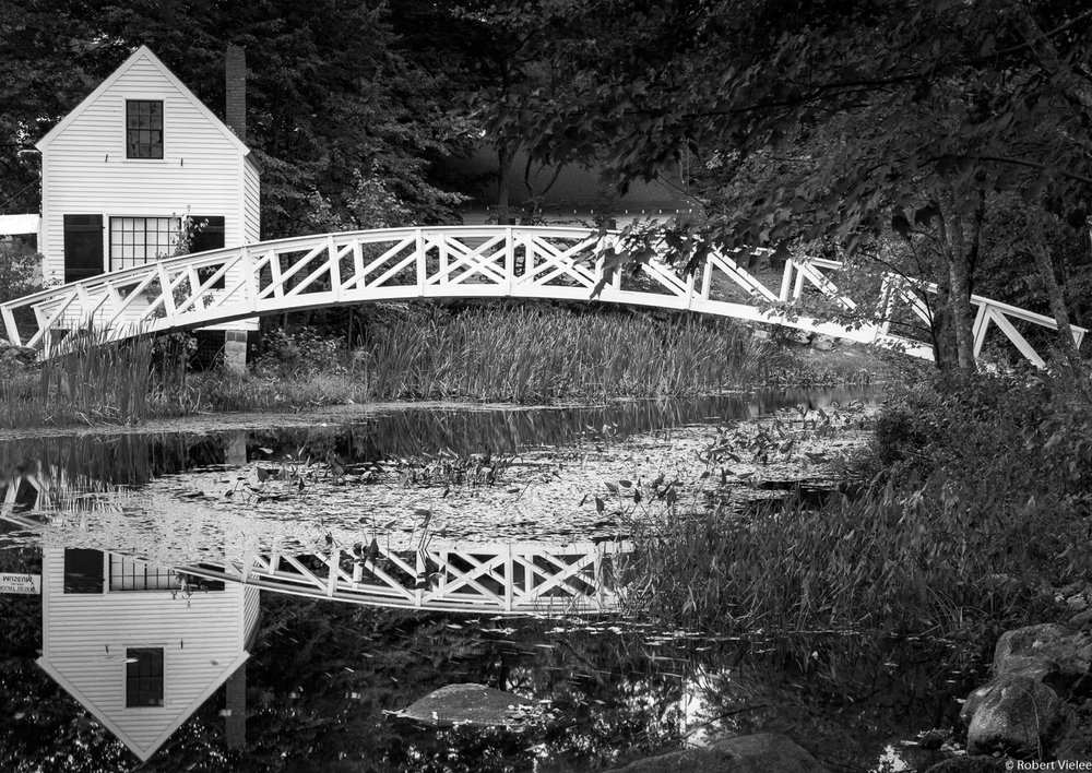 Footbridge Over Still Waters