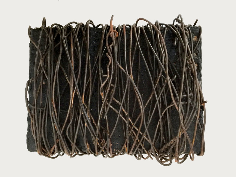 (Untitled) wire bale, 1992
