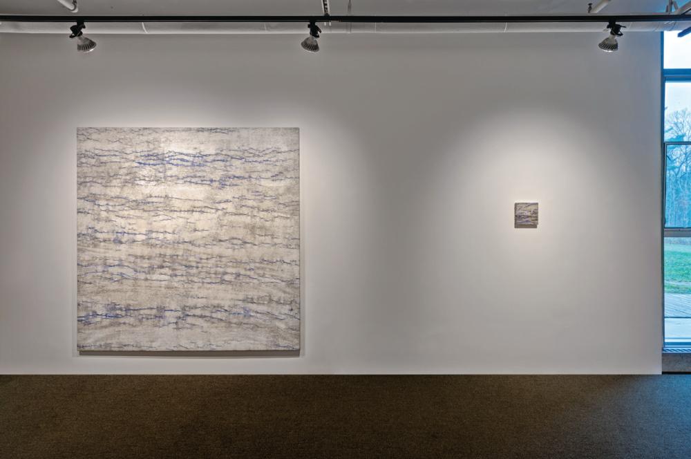Installation view,  Kathleen Jacobs: Clearing ,Hillman-Jackson Gallery, Great Barrington, MA, 2016
