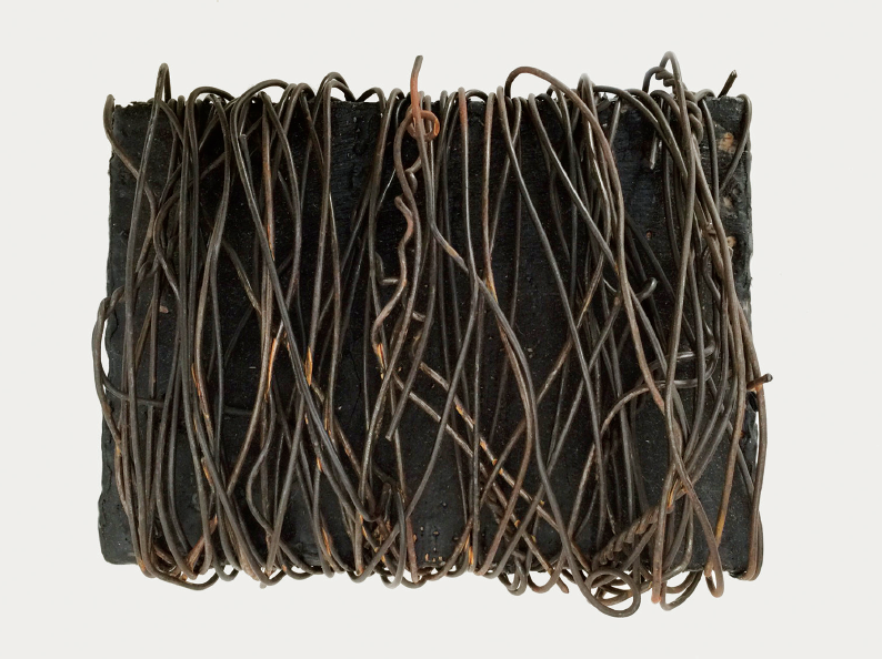 Untitled (wire bale), 1992