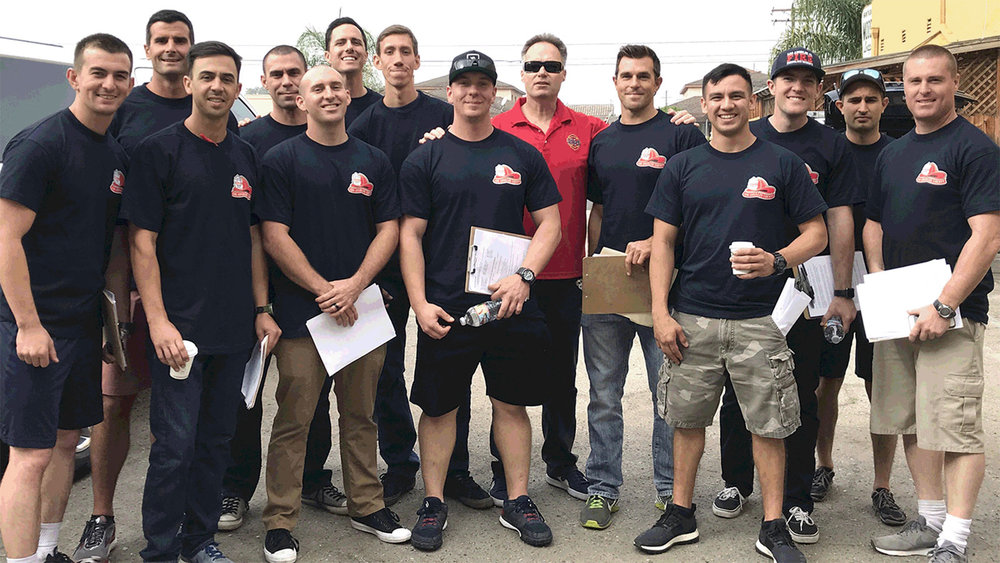 Local 1014 members hit the streets to campaign for a variety of local ballot measures in November.