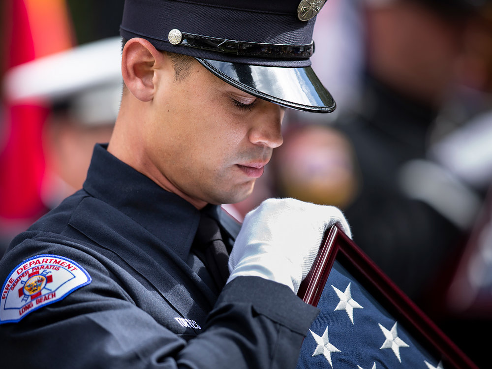 REMEMBERING OUR FALLEN - CALIFORNIA FIREFIGHTERS MEMORIAL CEREMONY