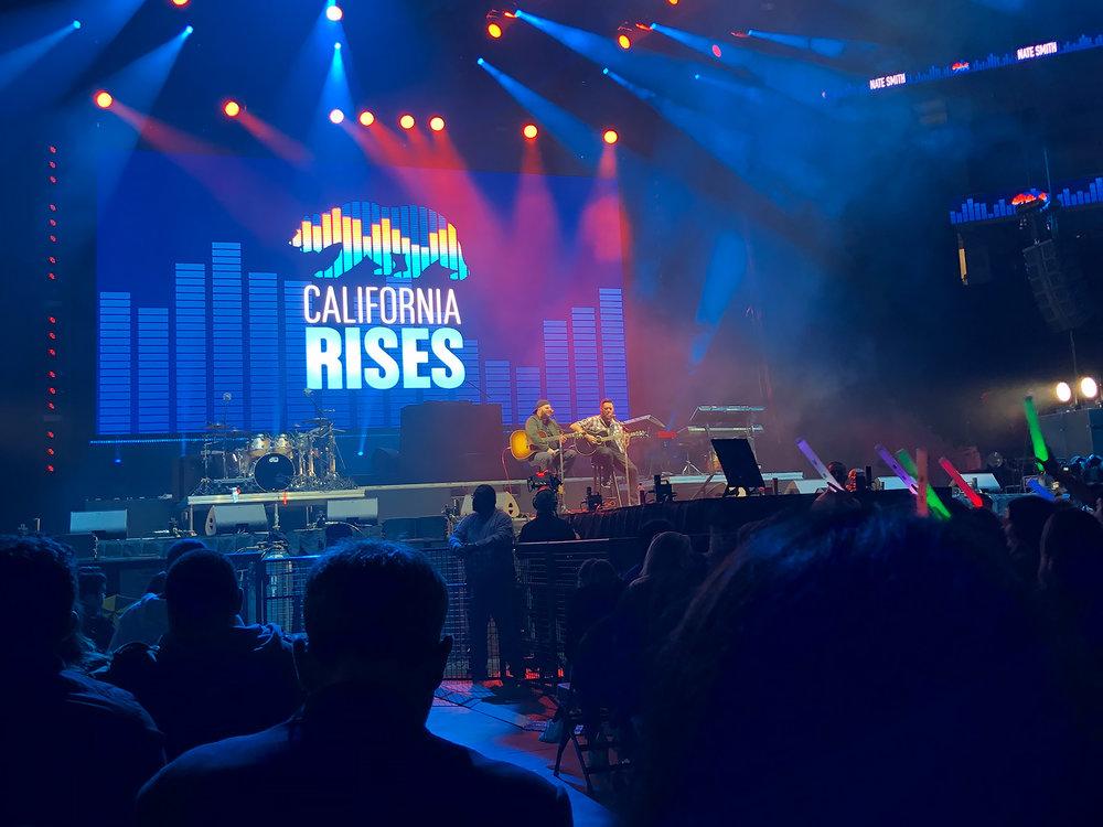 CALIFORNIA RISES - Concert Raises Millions to Aid Fire Victims
