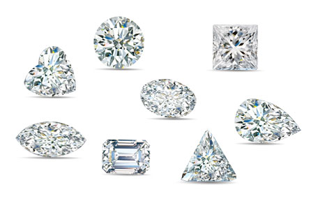 Many Diamond Shapes