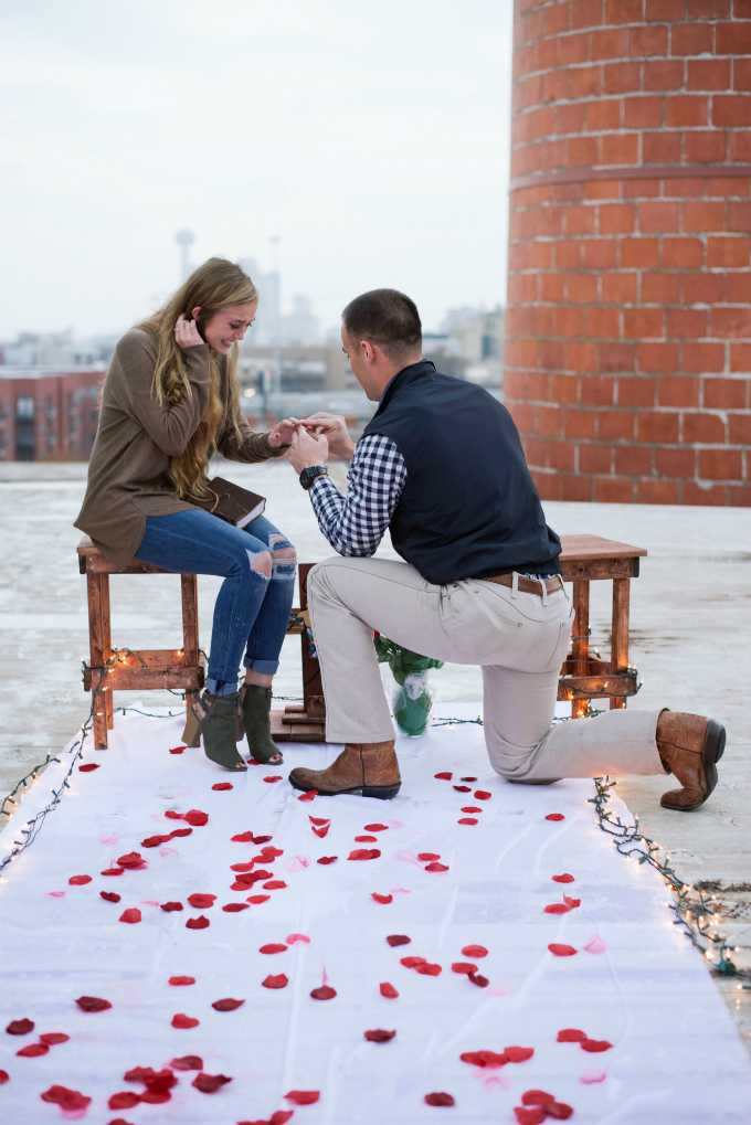 Kevin & Catherine - She served at a Young Life camp in the Dominican Republic last summer and brought me back a piece of wood (I've done carpentry on the side for a little over 10 years). Little did she know I took that wood and made it into the box I used to propose!Click to Read More.