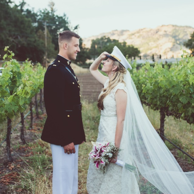The Stausses - These High School Sweethearts met at 14, started dating by 16 and have been inseparable ever since. With four moves across country down, this couple is ready for anything, including a life of military moves and deployments. Click to Read More.
