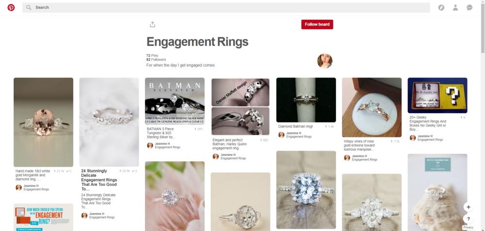 Pinterest Inspiration for Custom Engagement Rings