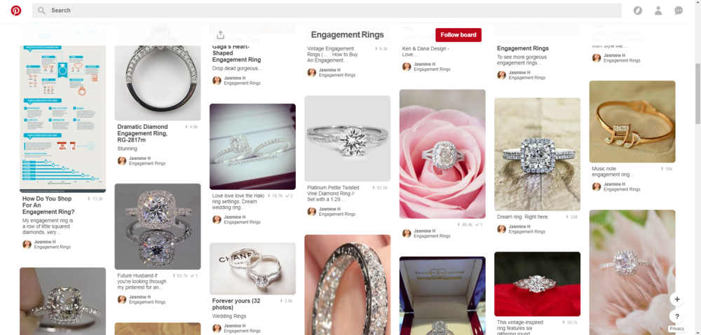 Pinterest Engagement Ring Inspiration