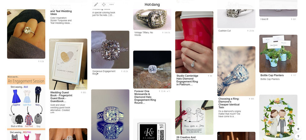 Pinterest Engagement Rings