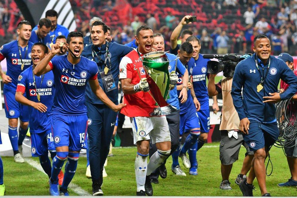 Cruz Azul se coronó en la Copa el torneo pasado