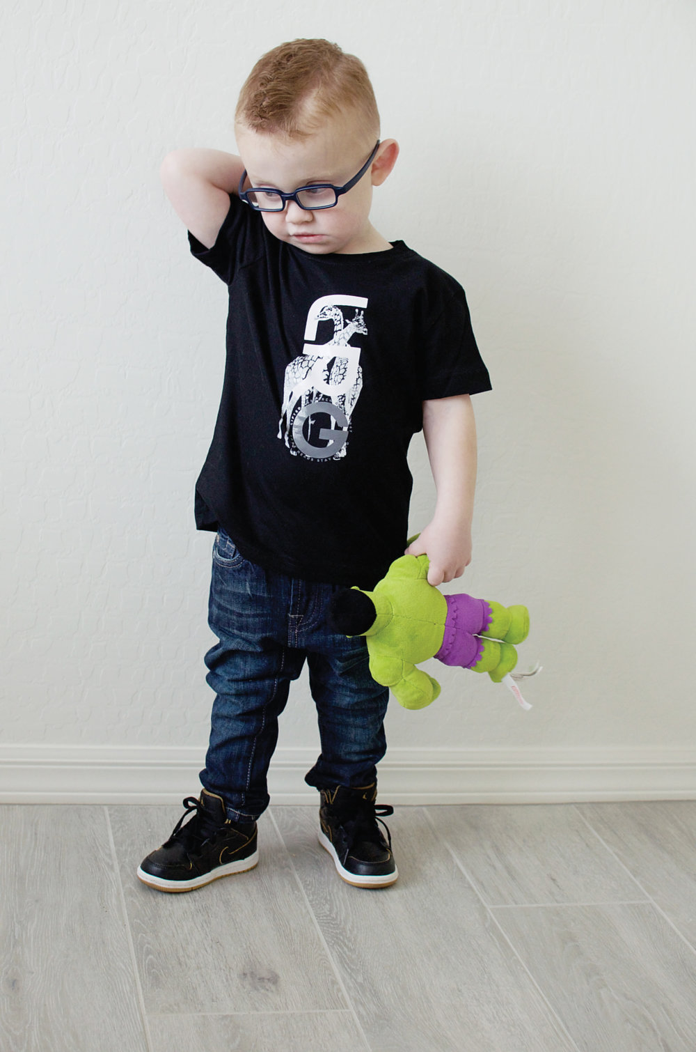 Seven Mankind Jeans and Graphic T-Shirt (with Hulk)