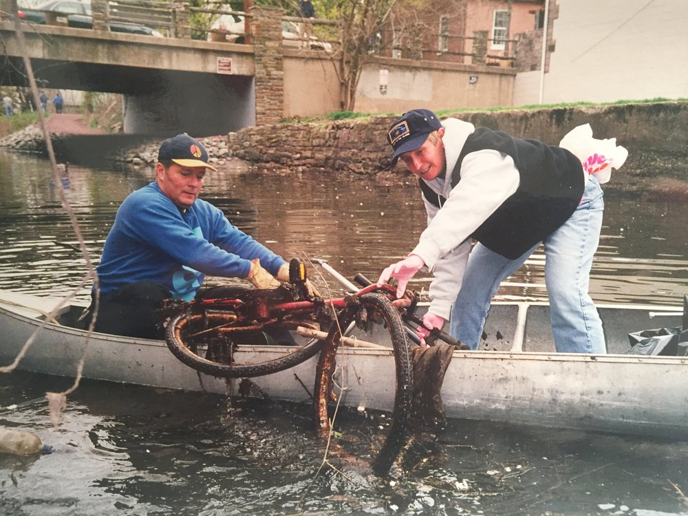Cleaning up the Canal