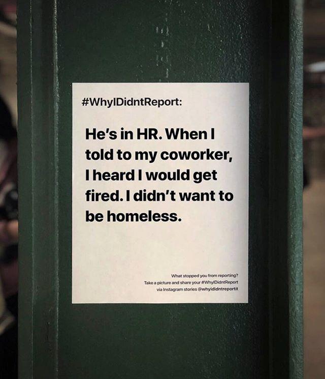 Another heartbreaking #whyididntreport story. We always hear you, believe you and fight for you. . . #wehearyou #webelieveyou #wefightforyou  #believesurvivors #yourvoicematters #whyididntreportit #believewomen #trustwomen #metoo #metoomovement #sexualabuse #sexualassault #voiceup #speakup #trump #donaldtrump #america #us #usa #newyork #newyorkcity #nyc #victim #timesup #christineblaseyford #christineblaseyford #stopkavanaugh #cancelkavanaugh