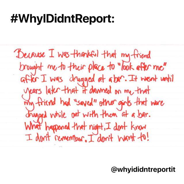 Heartbreaking stories from #whyididntreport pop-up gallery. We always hear you, believe you and fight for you. . .  #wehearyou #webelieveyou #wefightforyou  #believesurvivors #yourvoicematters #whyididntreportit #believewomen #trustwomen #metoo #metoomovement #sexualabuse #sexualassault #voiceup #speakup #trump #donaldtrump #america #us #usa #newyork #newyorkcity #nyc #victim #timesup #christineblaseyford #christineblaseyford #stopkavanaugh #cancelkavanaugh